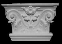 Капитель пилястры декоративная С230-150/ HKP 15D - Архитектурный декор, лепнина, компания Солид, Екатеринбург