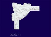 AC207-11 Угловой элемент с рисунком - Архитектурный декор, лепнина, компания Солид, Екатеринбург