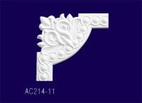 AC214-11 Угловой элемент  с рисунком /26*26*2 см - Архитектурный декор, лепнина, компания Солид, Екатеринбург