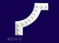 AC214-12 Угловой элемент с рисунком - Архитектурный декор, лепнина, компания Солид, Екатеринбург