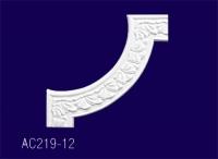 AC219-12 Угловой элемент с рисунком - Архитектурный декор, лепнина, компания Солид, Екатеринбург