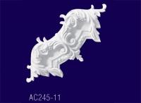 AC245-11 Угловой элемент с рисунком - Архитектурный декор, лепнина, компания Солид, Екатеринбург