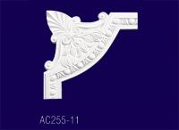 AC255-11* Угловой элемент с рисунком - Архитектурный декор, лепнина, компания Солид, Екатеринбург
