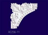 АС256-11 Угловой элемент с рисунком/30*30*1,9см - Архитектурный декор, лепнина, компания Солид, Екатеринбург