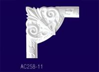 AC258-11 Угловой элемент с рисунком - Архитектурный декор, лепнина, компания Солид, Екатеринбург