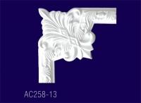 AC258-13 Угловой элемент  с рисунком - Архитектурный декор, лепнина, компания Солид, Екатеринбург