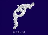 AC290-12L Угловой элемент с рисунком - Архитектурный декор, лепнина, компания Солид, Екатеринбург