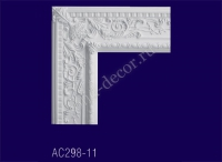 AC298-11 Угловой элемент с рисунком - Архитектурный декор, лепнина, компания Солид, Екатеринбург