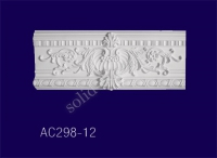AC298-12 Угловой элемент с рисунком - Архитектурный декор, лепнина, компания Солид, Екатеринбург