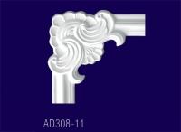 AD308-11 Угловой элемент   с рисунком - Архитектурный декор, лепнина, компания Солид, Екатеринбург