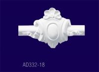 AD332-18 Угловой элемент с рисунком/26,5*16*3см - Архитектурный декор, лепнина, компания Солид, Екатеринбург
