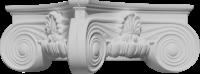 Капитель колонны декоративная С345-130/ D1 - Архитектурный декор, лепнина, компания Солид, Екатеринбург